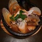 和のごちそう 暖丸 - お気に入りの魚貝の石焼き♪