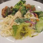 中華菜館 水蓮月 - サラダバーからのお皿