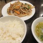 中華菜館 水蓮月 - メイン、ご飯、スープ