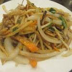 中華菜館 水蓮月 - 豚肉と玉ねぎ炒め