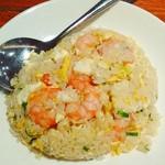 鼎泰豊 101店 - 海老焼飯の小サイズ。