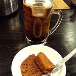 けむり屋 牛力 - 食後のドリンク&ケーキ