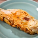 吉林菜館 - 蒸し鶏(骨付きの鶏肉)
