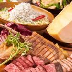 肉専門 大衆酒場 トロット - 肉ジャングル5種コース