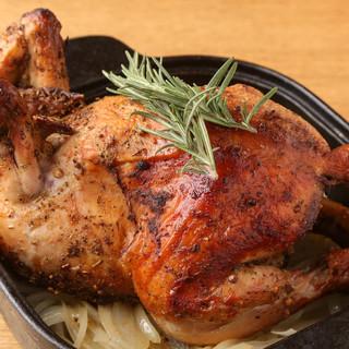 【看板メニュー】清流若鶏のローストチキン!