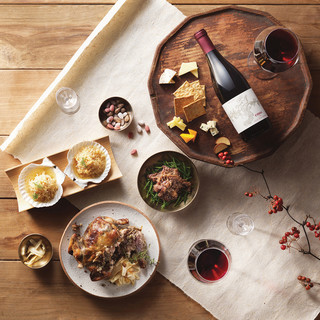 シャンパンやワインとのマリアージュをお楽しみください♪