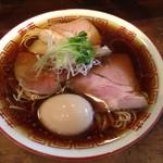 Shibata - 味玉中華そば880円(通常+100円)