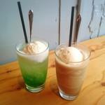 ゴンゾウ カフェ&ビーンズ - ドリンク写真:季節限定ドリンク