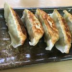 支那そば 一麺 - 手作り餃子(370円)