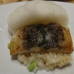 アコンプリ - 三河一色の鰻と枝豆のリゾット