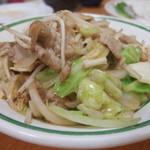 中園食堂 - 野菜炒め
