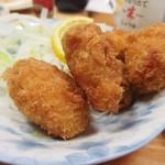 中園食堂 - カキフライ