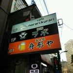 麺爺ラボ - 店の看板