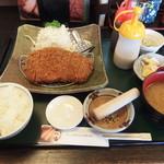 かつ吉 - 米の娘ぶら定食160g 1836円なり