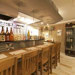 日本酒バー オール・ザット・ジャズ - カウンター席