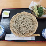 わか松 - 料理写真:舞茸の天ざるそば 900円
