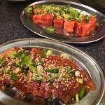 デンスケ - ハラミとバラ肉
