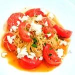 祥瑞 さっぽろ - フルーツトマトとリコッタチーズの冷たいカペッリーニ