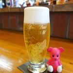 イタリア家庭料理 グウフォ - ドリンク写真:生ビール ¥520