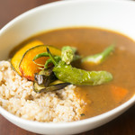 cafe Stay Happy - 有機野菜とお豆のベジカレー