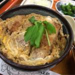 そば処 ながつか - 桃山のかつ丼 2/3サイズ