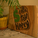 cafe Stay Happy - 看板