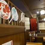 吉岡 - 店内の雰囲気は思いっきり鳥メロで