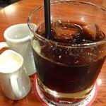 Euro Cafe - アイスコーヒー
