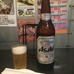 新宿食肉センター 極 - 「瓶ビール(大)」670円