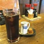 69714451 - ランチセットのアイスコーヒー