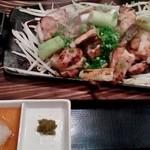 とり家ゑび寿 - 宮崎鶏もも焼き