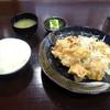 中津からあげ もり山 - 料理写真:「骨なしもも肉定食」702円