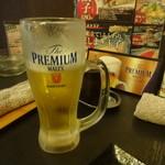 武蔵 - まずは生ビール