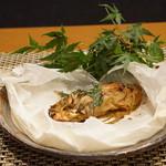 平花とんぼ - 金目鯛のカルトッチョ