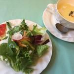 スタジョーネ - 料理写真:サラダ&本格スープ