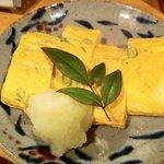 手打蕎麦 ちりん - 青唐厚焼き卵