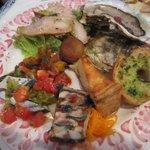 レ プリムール - 前菜盛り合わせ