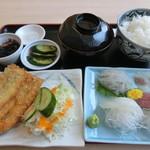 いたこ丸 - いたこ丸定食(並)1200円
