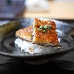 豪龍久保 - 天然鰻(霞ヶ浦)の飯蒸し
