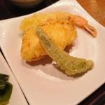 薫風 梅み月 - 揚げたての天ぷら