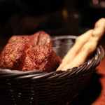 ビストロ ステーキ ティーボーン - 自家製ブレッド☆