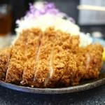 とんかつ大門 檍 - 料理写真:特上ロースかつ定食