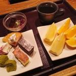 薫風 梅み月 - デザートやフルーツ、コーヒー