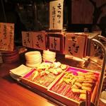 薫風 梅み月 - 天ぷらコーナー