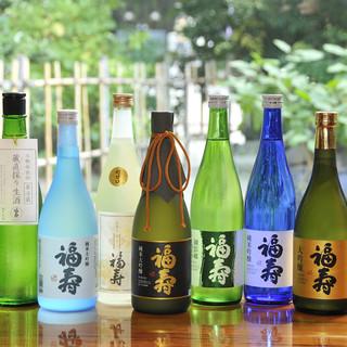 ノーベル賞の公式行事で提供された神戸の地酒「福寿」