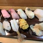 勝栄鮨 - 特上寿司(2,500円)
