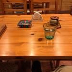 お天気屋喫茶店 - セッティング