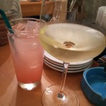 バルフェザース - 白ワインと白桃ソーダ