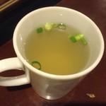 備長扇屋 - シジミスープ