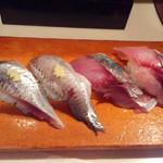 寿司政 - 料理写真:アジ、イワシ